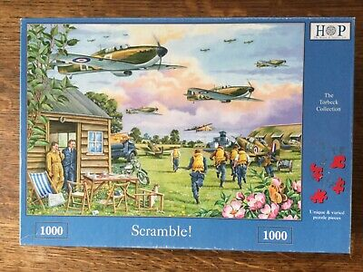 Hop ~ 1000 Piece Puzzle ~ Scramble! The Torbeck Collection  War Planes-complete • 10.99£