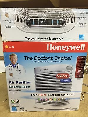 HONEYWELL DOCTOR'S CHOICE True HEPA AIR PURIFIER & Allergen Remover HPA105-TGT • 38.33£