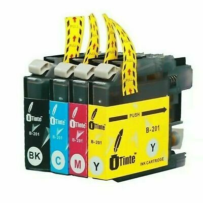 AU8.15 • Buy LC201XL Ink Cartridges Compatible For Brother LC201 Fit MFC Printer 4 Pack New