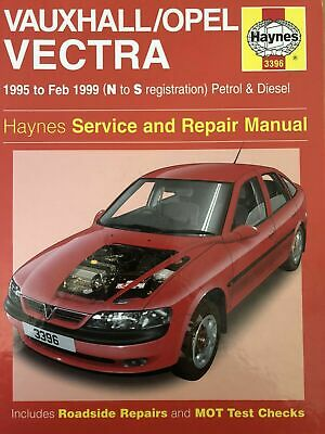 Vauxhall/Opel Vectra HayneS Service And Repair Manual  Petrol & Diesel-free P&p • 6.90£
