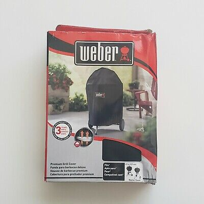 $ CDN44.30 • Buy Weber Premium 22 Inch Charcoal Grill Cover Waterproof - 7150