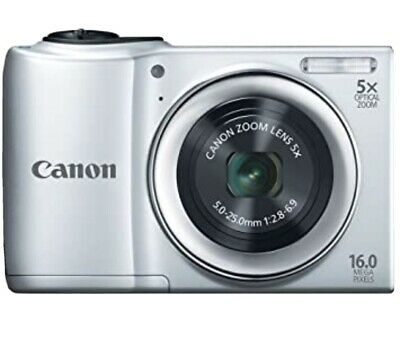 £30 • Buy Canon Powershot A810 16.0mp 5x Zoom Silver