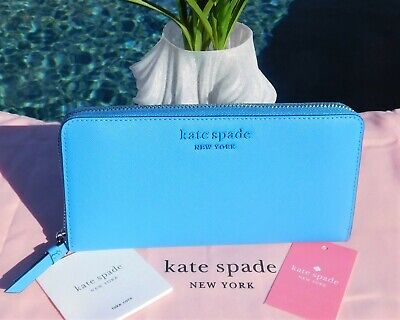 $ CDN78.53 • Buy 🌸 NWT Kate Spade Cameron Monotone Large Continental Wallet Oceanside New $229