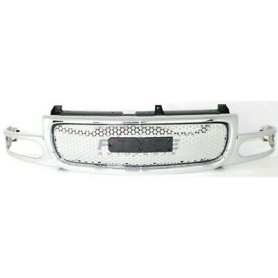 $253.39 • Buy New Grille Chrome Shell And Insert Fits Gmc Yukon 2001-2006 Gm1200510