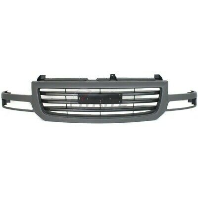 $185.75 • Buy New Grille Dark Gray Shell / Black Insert Fits Gmc Sierra 1500 03-06 Gm1200476