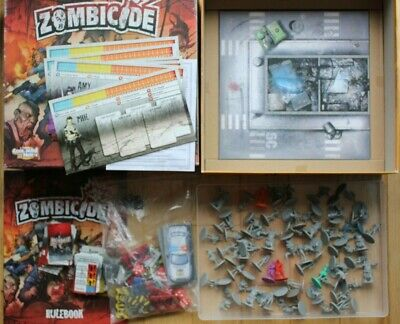 Zombicide Core Board Game Vg & Complete Nice Condition 2012 Collection Nice Lot • 49.99£