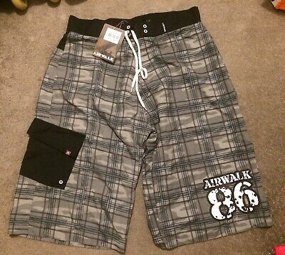 Mens Airwalk Board Shorts Brand New Rrp £24.99 Size Medium • 14.99£