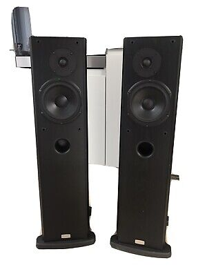 RUARK Prelude 2 Floorstanding Speakers In Matte Black Finish. Matched Pair • 400£