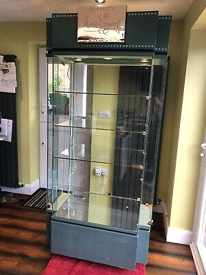 Walt Disney Classic Collection Glass Display Cabinet • 180£