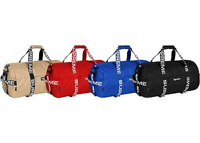 $ CDN104.32 • Buy Supreme Duffle Bag (SS18) UA Black, Red, Khaki
