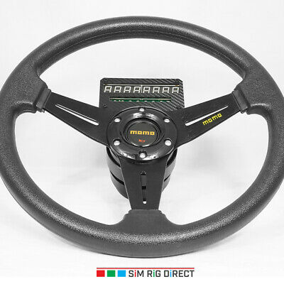AU190 • Buy Upgrade To 14  MOMO Wheel With Steel Paddle Shifter Logitech G25 G27 G29 G920