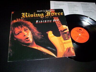 $ CDN19.23 • Buy Yngwie J. Malmsteen's Rising Force  Marching Out  LP Inner Polydor – 825 733-1