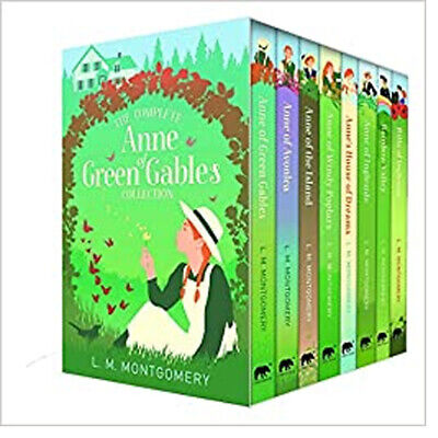 The Complete Anne Of Green Gables Collection 8 Books Box Set By L. M. Montgomery • 21.86£