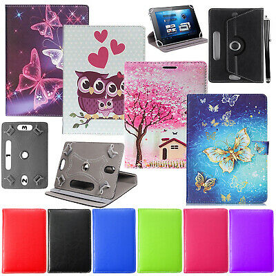 For Lenovo M10 10.1  360° Tablet Universal PU Leather Flip Stand Book Case Cover • 4.49£
