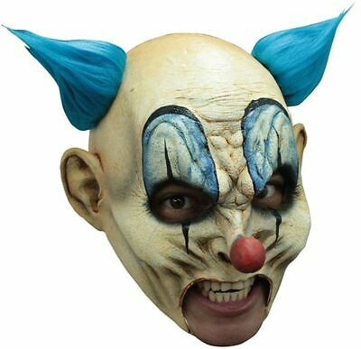 £24.99 • Buy Scary Krumpy Clown Deluxe Chinless Head Mask With Chinstrap Latex Halloween Mask