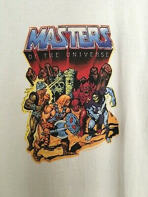 $26 • Buy Vintage Masters Of The Universe Men's Large Ringer T-Shirt