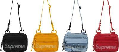 $ CDN66.03 • Buy Supreme Small Shoulder Bag (SS20) UA Black, Dark Red, Gold, Blue