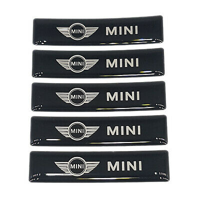 Mini Badge 3d Eblem For Mini Cooper Stickers Mini Decals Countryman Turbo 5pcs • 5.99£