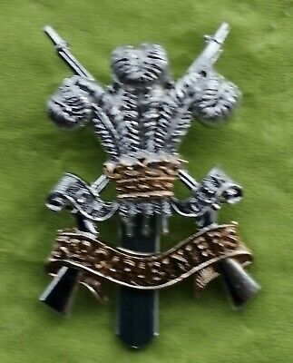 3rd Carabiniers Prince Of Wales Dragoon Guards Cap Badge Anodised/Staybrite   • 5.99£