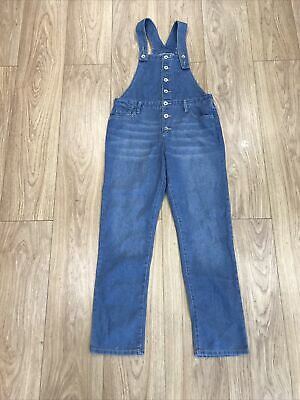 Girls Dungarees Age 13 To 14 Years Place Blue Denim E1824 • 9.99£