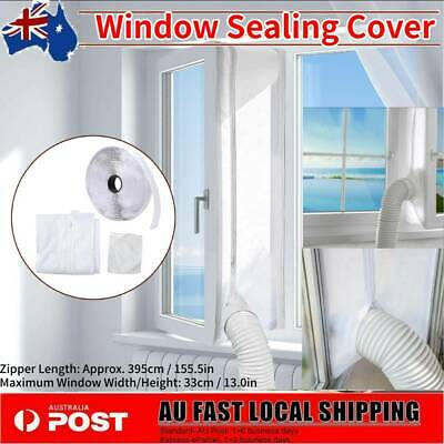 AU15.34 • Buy Air Conditioner Awnig Window Sealing Kit Hot Air Stop Outlet Mobile 395cm AU