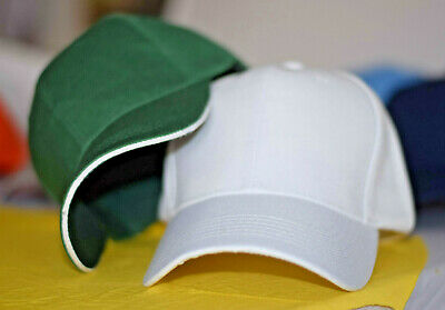 Baseball Cap Polo Style Classic Sports Casual Plain Sun Hat Unisex Men Women Boy • 4.49£