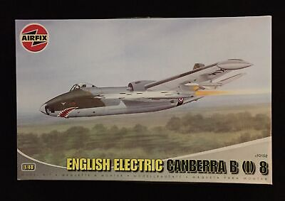 Airfix 1:48 Scale English Electric Canberra B (I) 8 Model Kit - A10102 • 39.99£