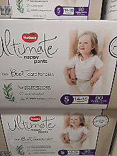 AU49.99 • Buy Huggies Ultimate Nappy Pants Size 5 Pack Of 80