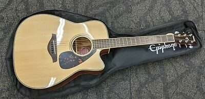 AU849 • Buy As New Yamaha Acoustic Guitar FGX720SC WITH BAG