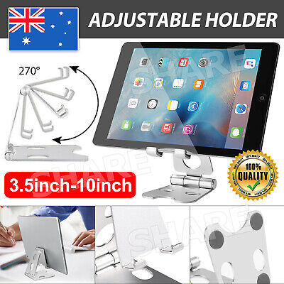 AU8.85 • Buy Universal Portable Folding Aluminum Tablet Mount Holder Stand For IPhone IPad AU