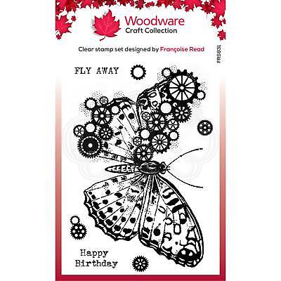 £6.99 • Buy Cog Butterfly Stamp