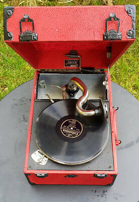 Renovated Decca 120 Salon Gramophone • 250£