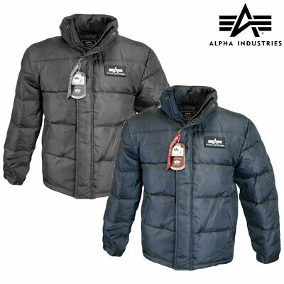 £69.90 • Buy Puffer Jacket Alpha Industries US Flight Down Insulated Parka Padded Winter Coat