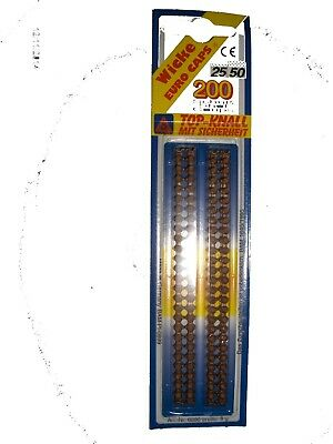 Wicke EURO Strip Caps 8 Strips Of 25 200 Shots Altogether Gun Toy Not To Kids • 3.95£