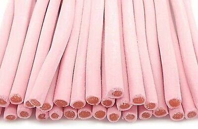£6.25 • Buy Strawberry Smooth Pencil Sweets Cable Chewy Retro Red Party  HALAL