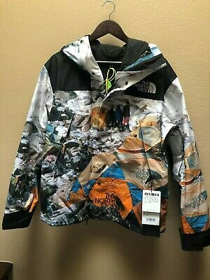 THE NORTH FACE X INVINCIBLE EXPEDITION SERIES MOUNTAIN JACKET BASE CAMP PRINT, L • 780.25£