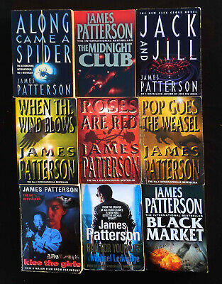 AU27.50 • Buy James Patterson Collection - 9 Books