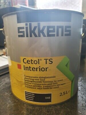 £29.99 • Buy Sikkens Cetol TS Interior Woodstain - 048 - Rosewood - 2.5L - Satin