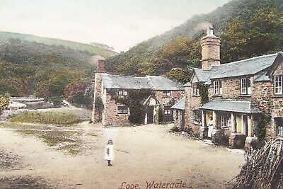 Vintage Frith's Postcard Of Looe , Watergate Cornwall  • 1.25£