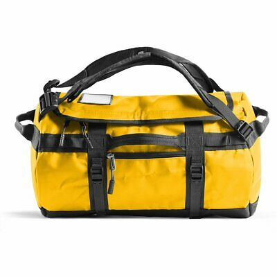 The North Face Base Camp Duffel 31L Size XS In SUMMIT GOLD/TNF BLACK • 83.17£