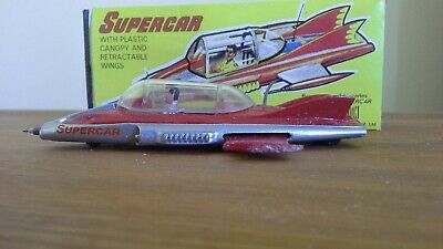 Gerry Anderson - Supercar Budgie 272 Diecast Model (boxed) • 115£