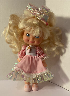 1988 Vintage Mattel Cherry Merry Muffin Cupcake Doll W Hair-bow 80s Figure 6.5  • 7.48£