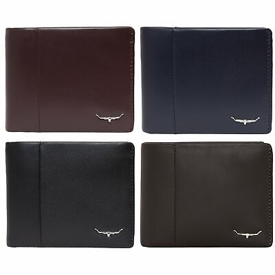 AU119.99 • Buy RM Williams Wallet With Coin Pocket - RRP 144.99 - FREE EXPRESS POSTAGE - SALE