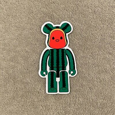 $9.99 • Buy Watermelon Medicom Bearbrick X Levis X Clot Sticker Decal