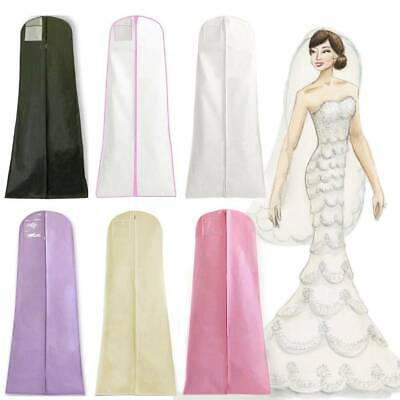 Extra Large Wedding Dress Bridal Gown Garment Breathable Cover Storage Bag • 7.99£