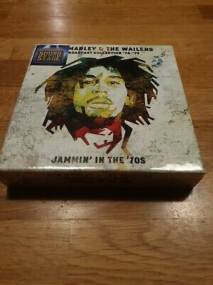 Bob Marley & The Wailer - Jammin' In The 70s - 7CD BOX SET - New & Sealed • 18.99£