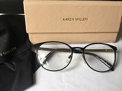 Karen Millen Prescription Glasses Frames Full Rim Women Reading Eyeglasses +2 • 39.99£