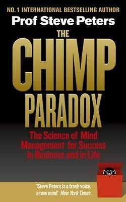 The Chimp Paradox: The Acclaimed Mind Management Progra... By Peters, Prof Steve • 17.89£