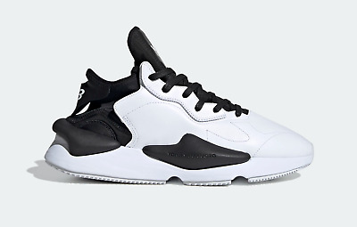AU670.64 • Buy Adidas Men's Y-3 Yohji Yamamoto Kaiwa In White And Black Trainers