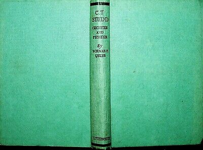 C.T. Studd Cricketer & Pioneer Norman P. Grubb 1951 HB Book Cambridge Missionary • 19.95£